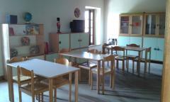 Sala per lo studio e giochi da tavolo